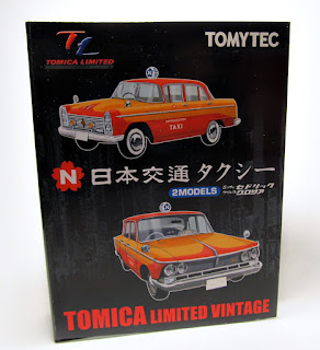 Tomica Limited Vintage Nippon Kotsu Taxi 2Models Nissan Cedric & Gloria