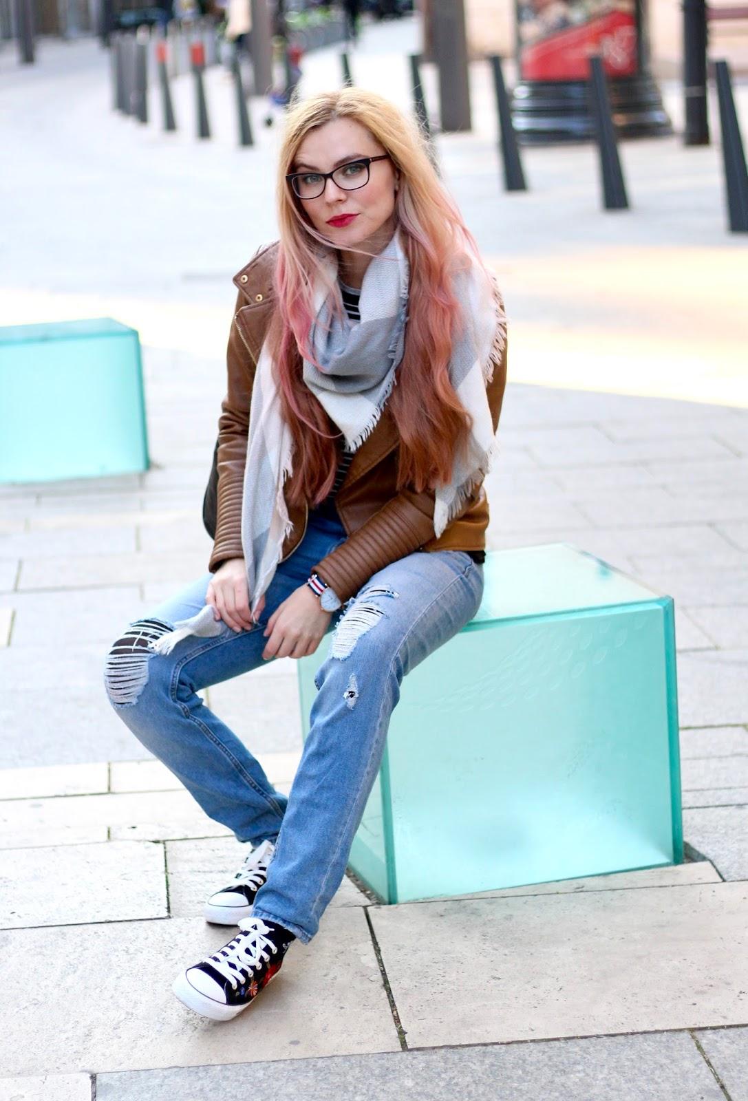 inšpirácia outfity, ružové vlasy