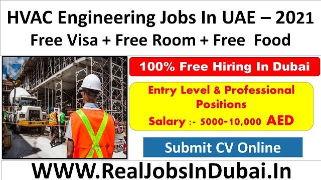 HVAC Engineer Jobs In UAE - 2021