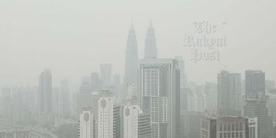 マレーシアのヘイズ煙害2015年