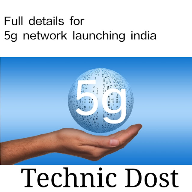 launching 5g network in india
