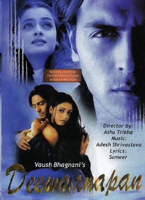 Deewaanapan 2001 Hindi 720p WEB-DL 1.1GB ESub