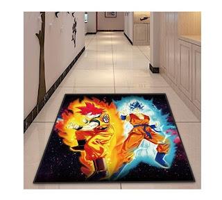 alfombra dragon ball para la habitacion