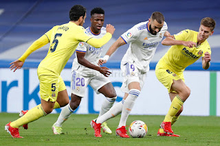 Crónica Real Madrid 0 Villarreal 0: Frenazo a la racha