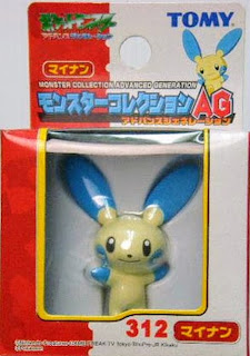 Minun figure Tomy Monster Collection AG series