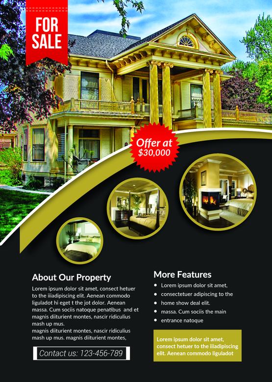 Professional real estate psd design