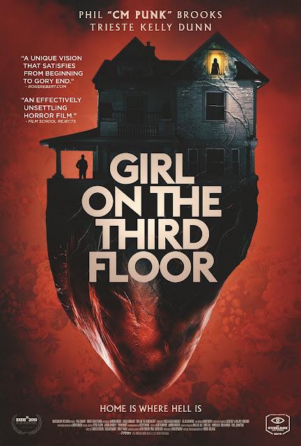 """Terrorífico tráiler final de """"Girl on the Third Floor""""; protagonizada por el exluchador CM Punk"""