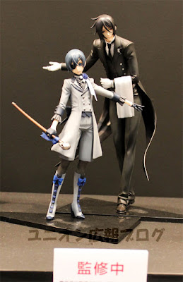 Ciel Phantomhive e Sebastian Michaelis della Union Creative International