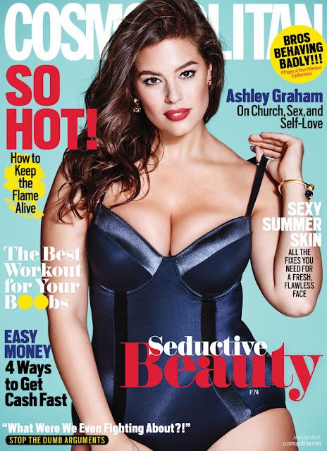 Fashion Model, @ Ashley Graham - Cosmopolitan, August 2016