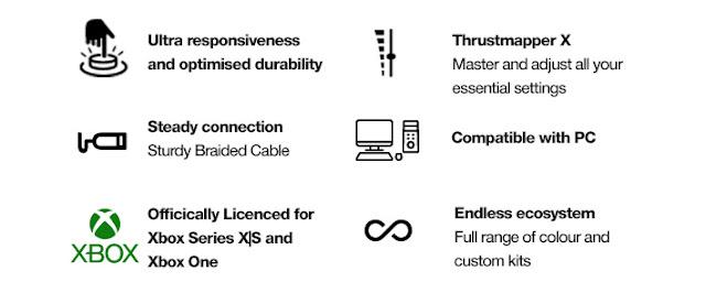 thrustmaster eswap key features
