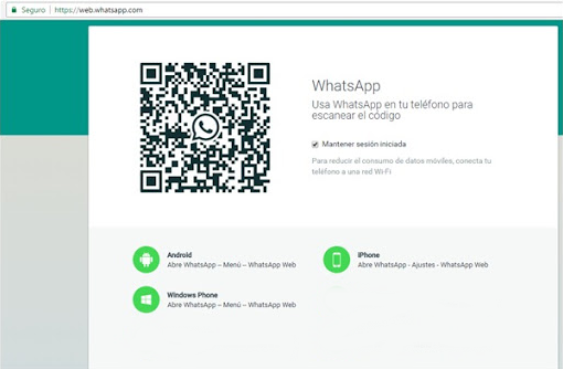 Abir mi cuenta WhatsApp Web - 721