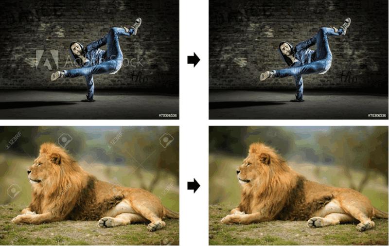 توضح غوغل مدى سهولة إزالة العلامات المائية للصورة بجعل العلامات المائية المرئية أكثر فعالية