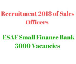 Bank Recruitment 2018,
