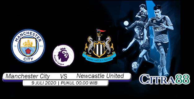 Citrabetonline – Menyajikan Prediksi Bola dan Tebak Skor Manchester City Vs Newcastle United 9 Juli 2020 Tepatnya Pada hari Kamis, 2020 pukul 00:00 waktu indonesia barat akan di adakan laga pertandingan Liga Inggris ( English Premier League ) yang akan di laksanakan di Stadion EtihadPark.