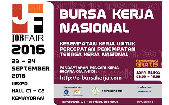 Info Job Fair September 2016