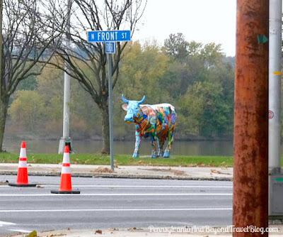 Cow Parade - Music COW Extravaganza Street Art in Harrisburg, Pennsylvania