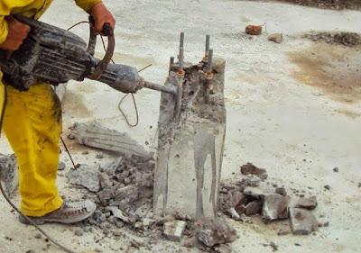 Khoan cắt bê tông khu công nghiệp Đông Nam