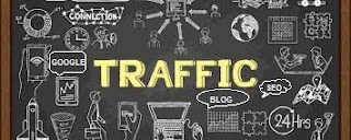Organic traffic on website and blog