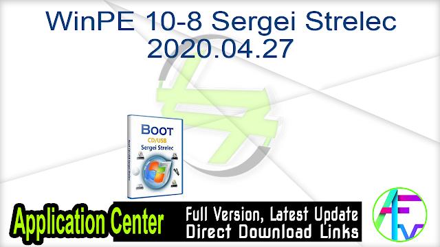 WinPE 10-8 Sergei Strelec 2018.01.05 Pre Activated
