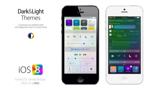 Apple iOS 8 Design