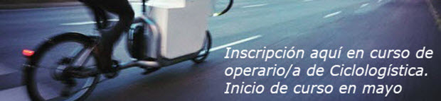Curso de operario en ciclologística - pincha para abrir