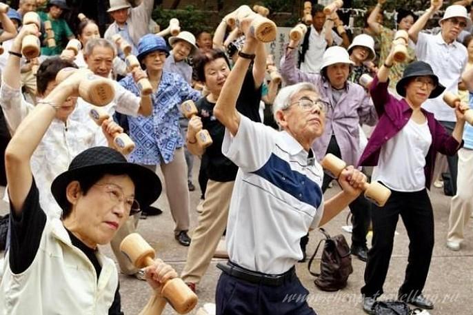 Спортивные китайцы