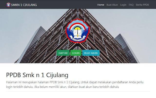 Aplikasi PPDB Online Versi 4