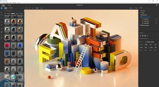 Adobe-Dimension-CC-2020-3D-Project-Model