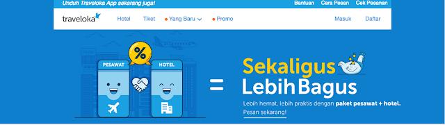 Sekaligus lebih bagus, Pesawat + Hotel