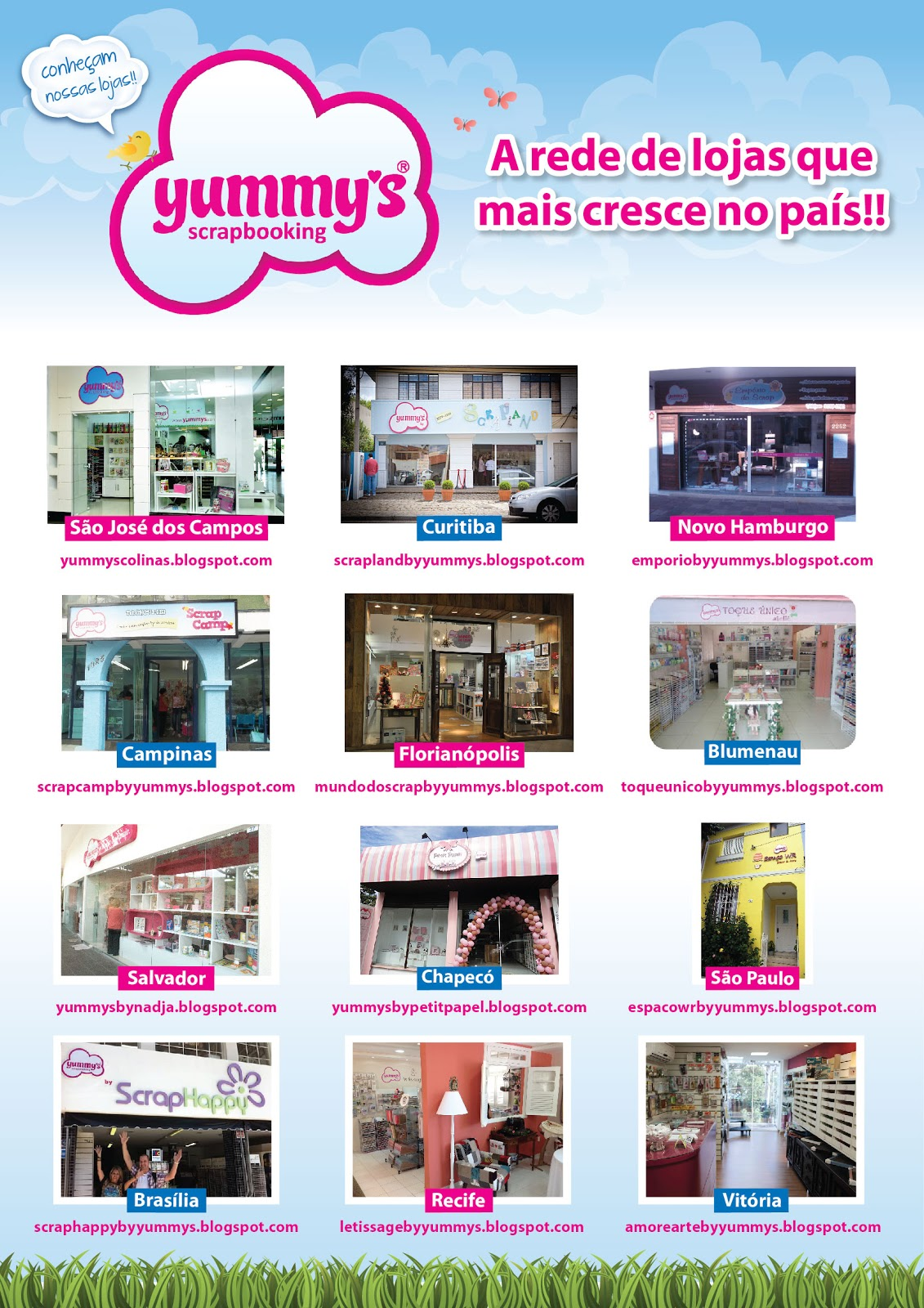 15c1b380178 Yummy s also invested in the online business doing a partnership with an  American company and it has leveraged Yummy´s to the preferred online  scrapbooking ...