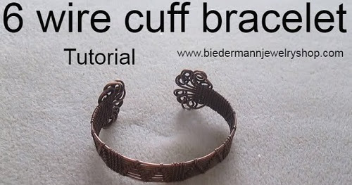 Claspless Wire Woven Cuff Tutorial