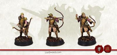 Patrulla de Arqueros - Last Sword