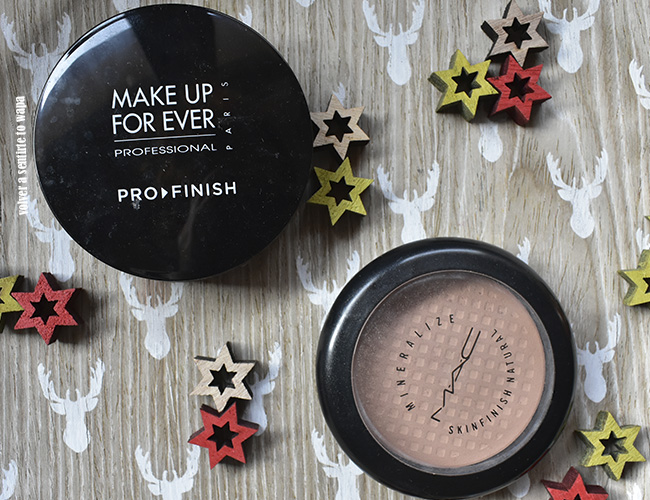 Pro-Finish de Make Up For Ever y Mineralize Skinfinish de MAC