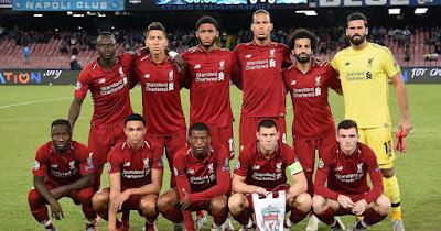 Daftar Skuad Pemain Liverpool
