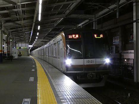 【緊急事態ダイヤ改正!】10000系有楽町線直通 普通 池袋行き