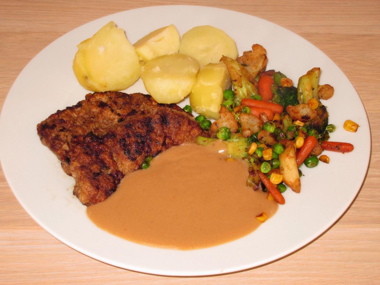 The Flaming Potato: Beef Escalope with a Delicious Gravy ...