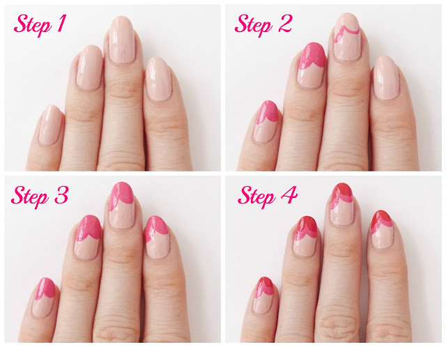 Sally Hansen valentines day nail art tutorial