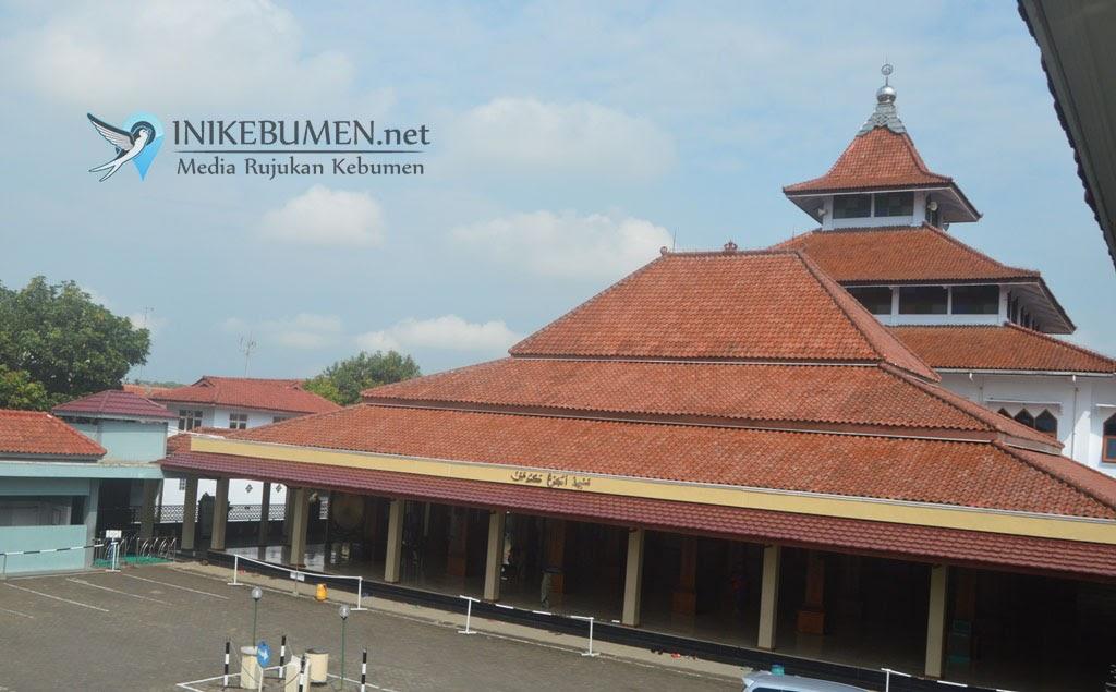 Masjid Agung Kauman Kebumen Dibuka Setelah 2 Pasien Positif Sembuh