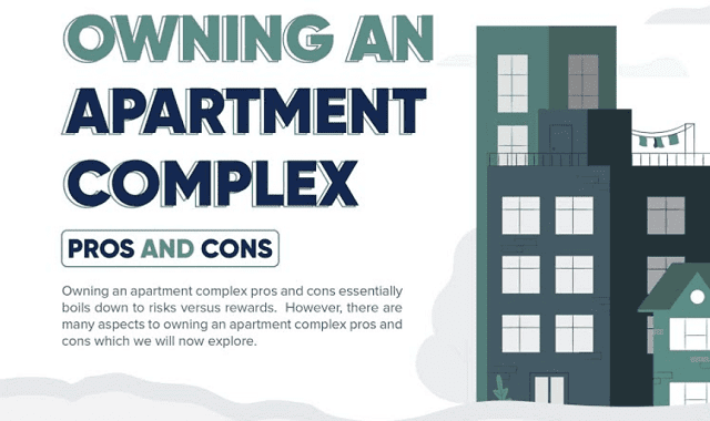 Owning an Apartment Complex Pros and Cons #infographic