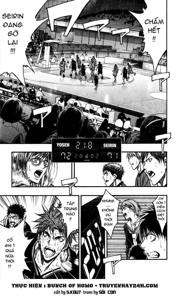 Kuroko No Basket chap 169 trang 1