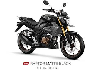 Verza CB150 Terbaru 2021 Raptor Matte Black Special Edition