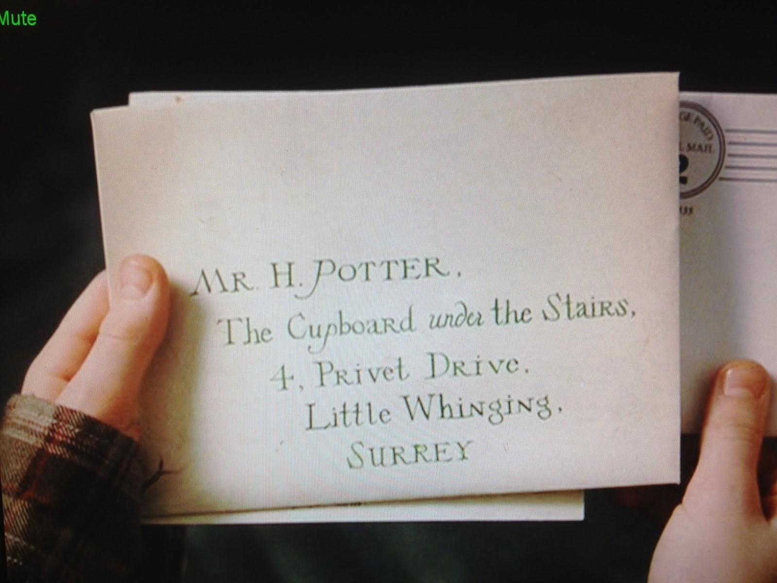 Exceptional Hogwarts Letter Envelope
