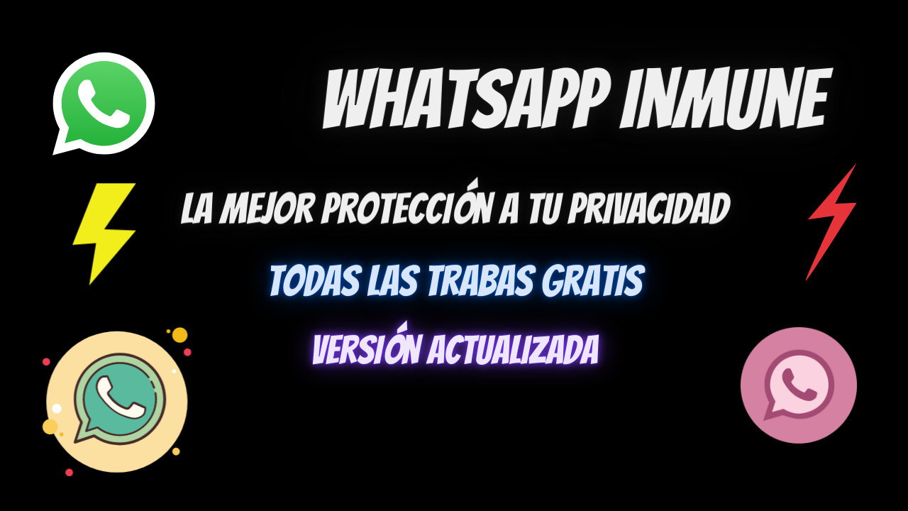 WhatsApp inmune