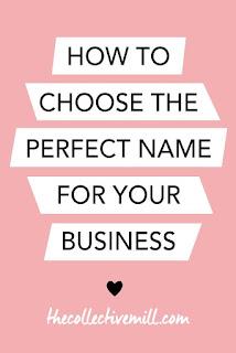 CHOOSING NAME