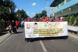 Pawai Budaya HUT ke 378 Kabupaten Bima Berlangsung Khidmat