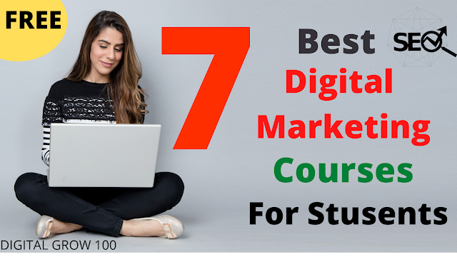 7 Best Free Digital Marketing Courses For Students 2021