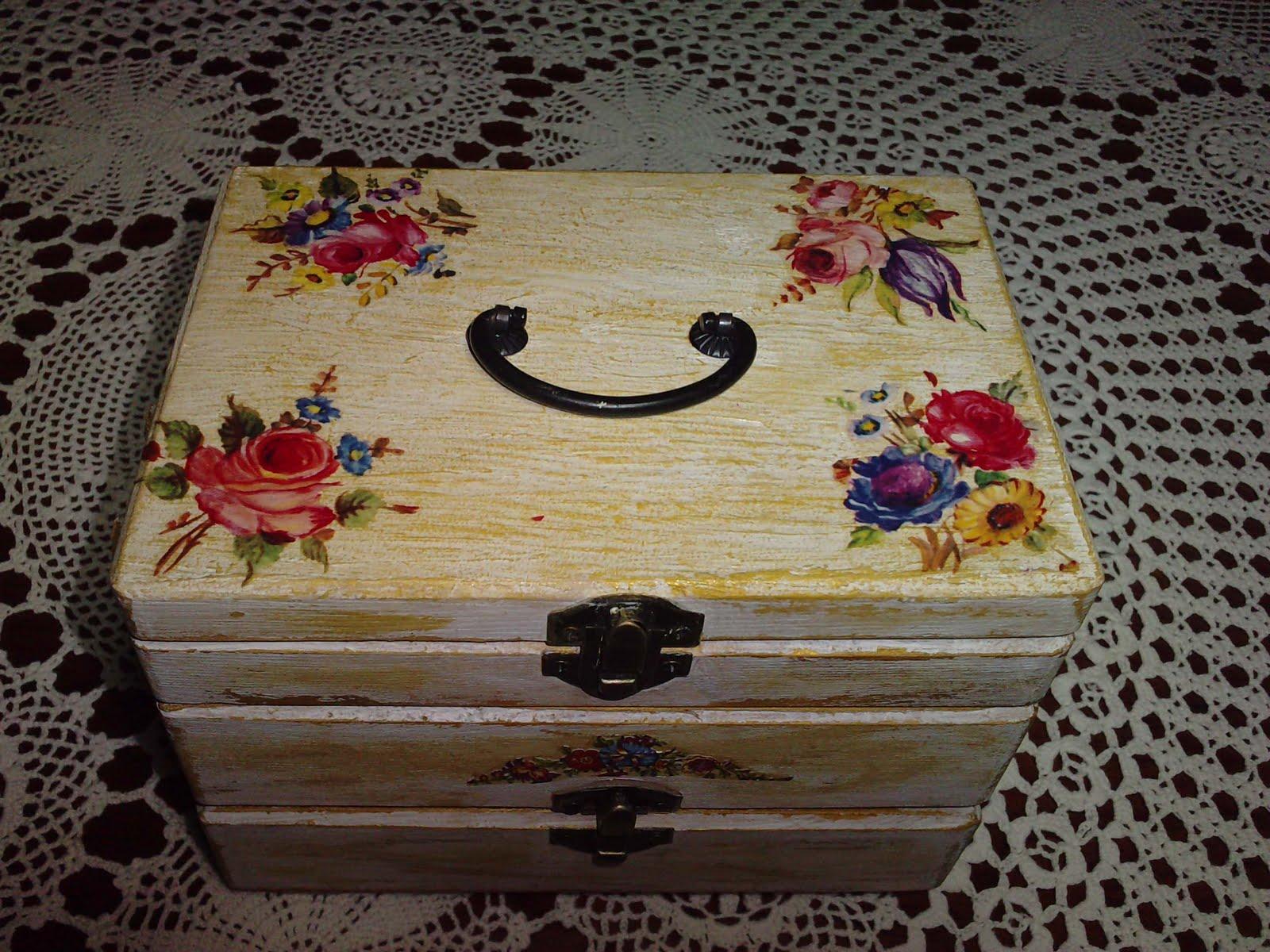 Caja Joyero Decorado