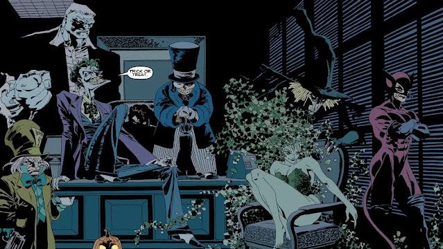Review del cómic Batman: Largo Halloween de Joseph Loeb y Tim Sale - ECC Ediciones