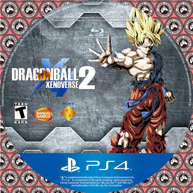 Label Dragon Ball Xenoverse 2 PS4 [Exclusiva]