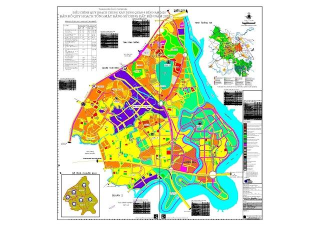 Bản đồ quy hoạch quận 9 file pdf
